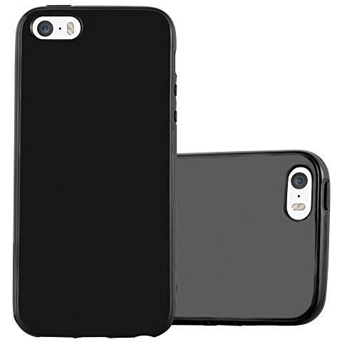 cover iphone 5s silicone nero