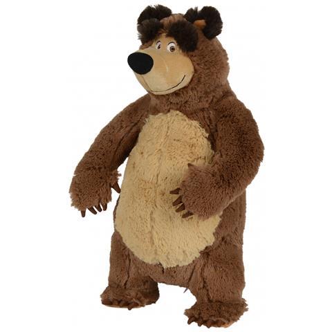 Simba Toys - Masha Plush Bear Orso giocattolo Felpato Marrone - ePRICE