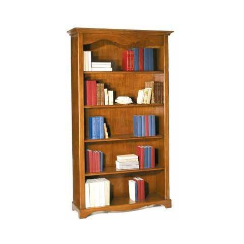 Mobili 2G - Libreria 5 Ripiani - Tinta Noce - ePRICE
