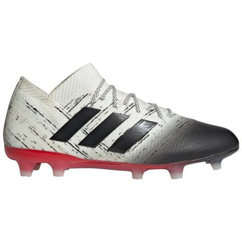c4a77ecbc1 adidas - Scarpe Calcio Adidas Nemeziz 18.1 Fg Initiator Pack Taglia 42 2/3  - Colore: Bianco / rosso - ePRICE