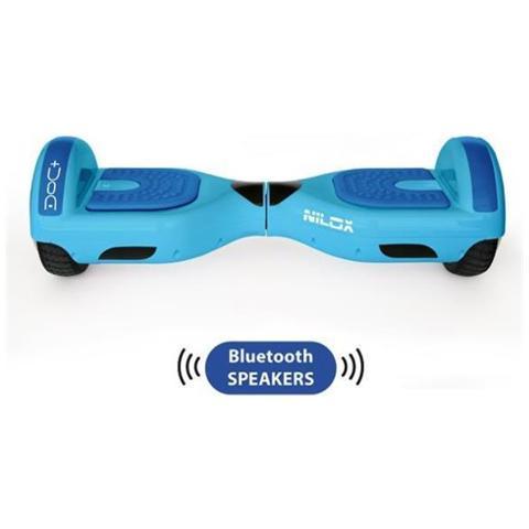 NILOX DOC+ Hoverboard Elettrico Blue Sky 6.5 con Speaker Bluetooth