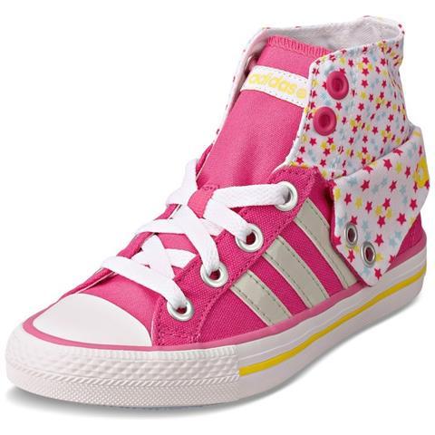Adidas Scarpe Bambina Bbneo 3 Stripes 38,6 Rosa Bianco