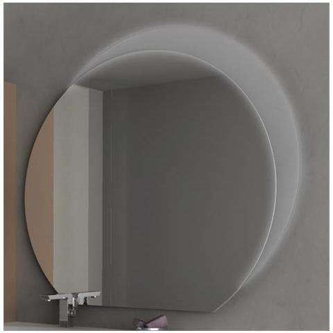 Bagno Italia Specchiera Specchio Da Bagno Con Illuminazione A Semiluna Luce Led Eprice