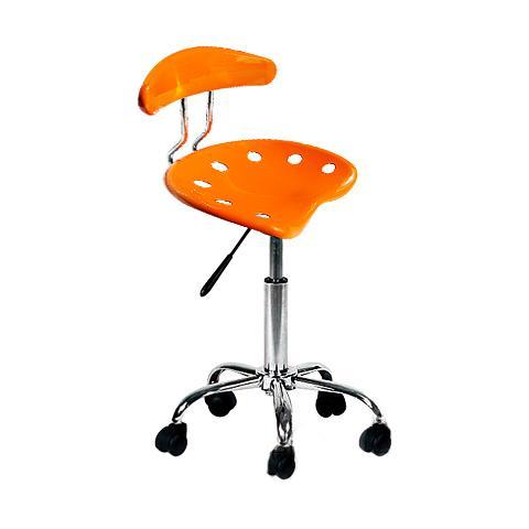 Sedie Da Ufficio Arancione.Homegarden Sedia Girevole Ufficio Arancio Eprice