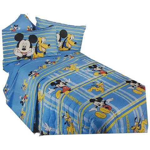 Piumone 1 Piazza E Mezza Disney.Caleffi Trapuntino Copriletto Trapuntato Letto 1 Piazza E Mezza Mickey Mouse Topolino Disney Eprice