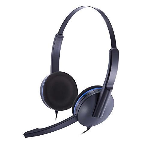 BIGBEN Cuffie Stereo con Microfono per Giochi Connessione Cavo Nera e Blu  1.2 m. Zoom 0742a8a9f691
