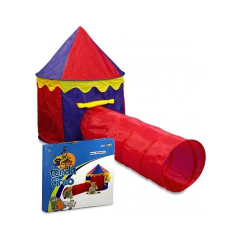 Tende Da Gioco Per Bambini.Cigioki 167830 Tenda Da Gioco Circo Per Bambini 260x105x125 Cm Con