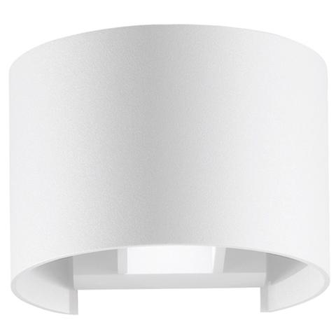 Gt luce - LED-W-DELTA / 6W BCO - Lampada da parete per esterno a led ...
