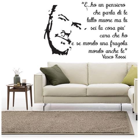 Adesivi Murali Vasco Rossi.Stampepersonalizzate Com Adesivi Murali Vasco Rossi E Ho Un