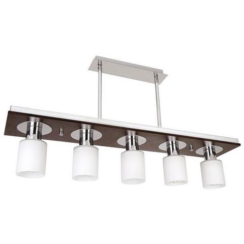 Lampade Sospensione Per Ufficio.Homemania Lampada A Sospensione Atlas Wenge Design Classico