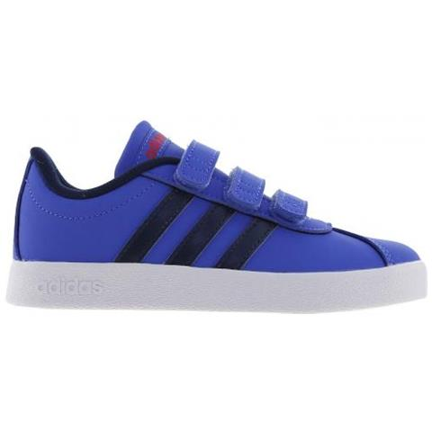 adidas Vl Court 2.0 Cmf C Scarpe Da Bambini Uk Junior 34