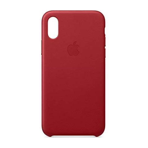 custodia pelle apple iphone xs