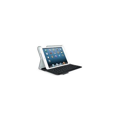 Custodia con Tastiera Ultrathin Bluetooth in Plastica per iPad Mini Colore Nero