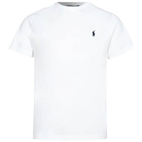 af07c96d4551 RALPH LAUREN Polo Ralph Lauren T-shirt 100% Cotone, Custom Fit, Large Bianca