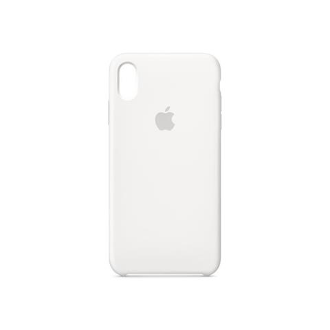 Apple Silicone Case iPhone XS Max - White