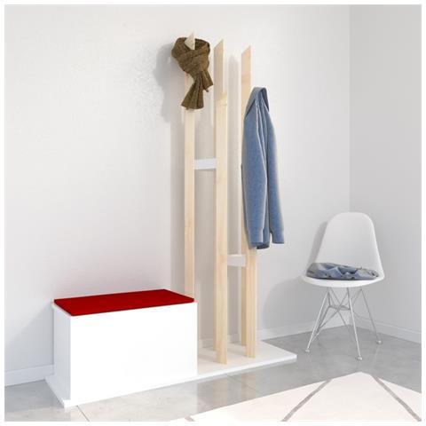 Homemania - Mobile Ingresso Katana Rosso Contemporaneo - Casa ...
