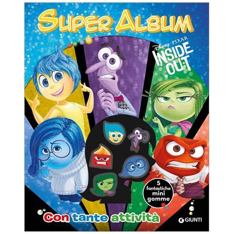 Walt Disney Disney Pixar Inside Out Super Album Gomma Eprice