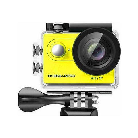 Action Cam SportCam Fun Full HD 12 Mpx Wi-Fi Impermeabile Colore Giallo