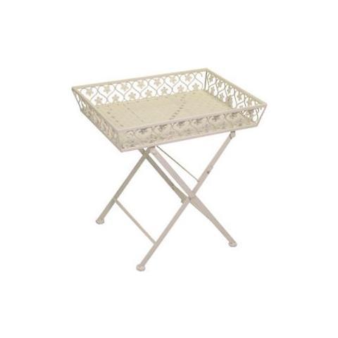 Gruppo Maruccia - Tavolino Decorativo Shabby Chic - ePRICE