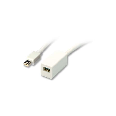 5m Lindy Cavo Mini DisplayPort a DVI-D Bianco