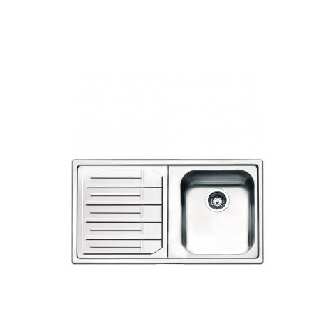 Exceptional SMEG   Lavello LPE861S 1 Vasca Dimensioni 34 X 40 Cm Inox Serie Aurora    EPRICE