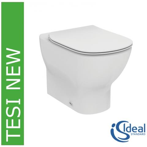 Sedile Per Vaso Tesi Ideal Standard.Ideal Standard Vaso Wc Filoparete Con Sedile Slim Rallentato Tesi New T3531 Bianco Eprice