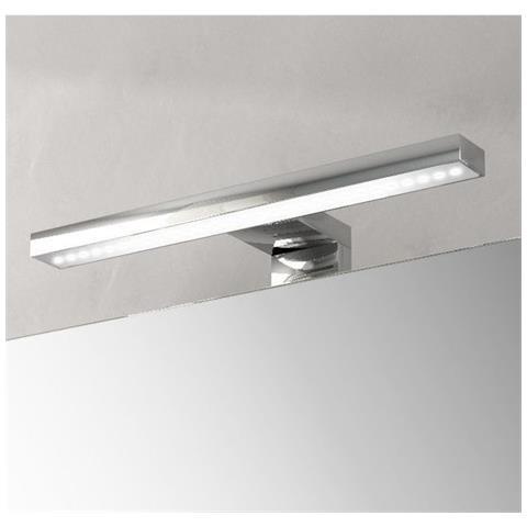 Specchio Luce Bagno.Bagno Italia Applique A Led Universale 30x10 Cm Per Specchio Illuminazione Mobile Bagno Luce Fredda Eprice