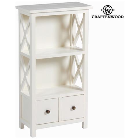 craftenwood - Libreria Con 2 Cassetti - Franklin Collezione By ...