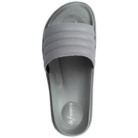 factory authentic 46098 d1159 DE FONSECA Pantofole Ciabatte Ragazzo Gomma Grigio Grigio 37