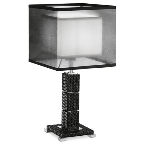 Gt luce - I-METROPOL / LG1 - Lampada da tavolo moderna nera 60 watt ...