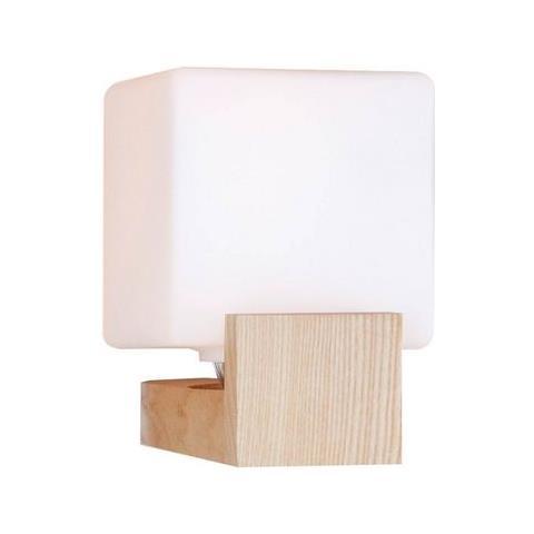 Homemania Lampada A Parete Lumi Rovere Legno Moderno Arredo