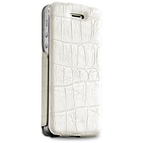 PURO - *Puro Cover Iphone 4/4S Pelle Bianco - ePRICE