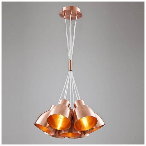Homemania - Lampada A Sospensione Multi Rame Moderno Decorativo ...