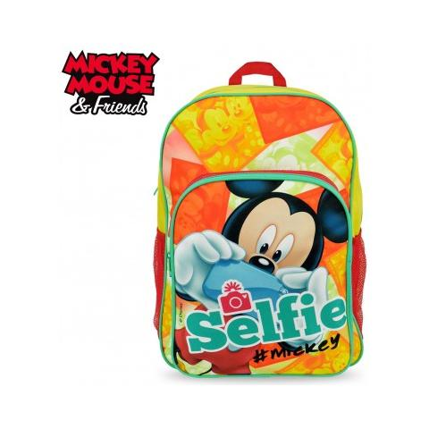 6981b3c032 Mickey Mouse Mk16102 Zaino A Spalla Adattabile Per Trolley Scuola Mickey  Mouse 42x31x12 Cm