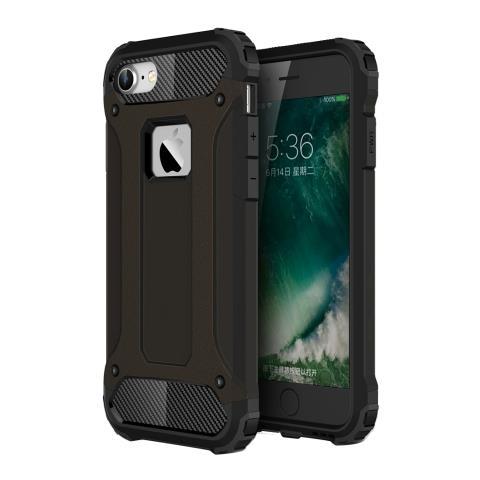 Mecaweb Custodia Tpu Silicone Morbido Con Copertura Plastica Rigida Per Smartphone Apple Iphone 7