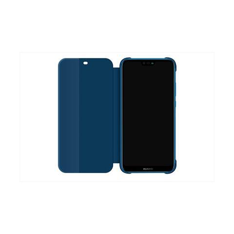 foto ufficiali 26c70 8d4b2 HUAWEI Flip Cover Custodia Window Book Huawei P20 Lite colore Blu