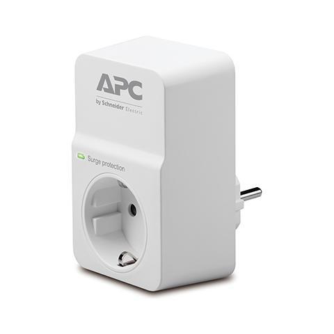 APC APC ESSENTIAL SURGEARREST 1presa(e) AC 230V Bianco protezione da sovraccarico