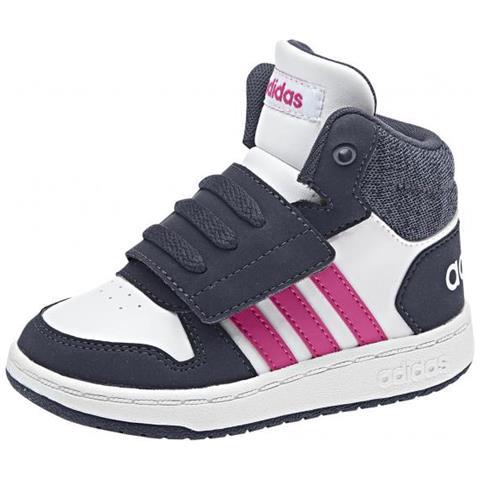 adidas Hoops Mid 2.0 I Scarpe Da Bambini Eur 26