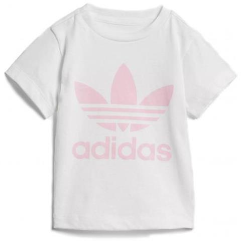00d74bacf8 adidas - I Trf Tee Maglietta A Mariche Corte Da Bambina Taglia 2/3a ...