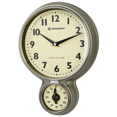 BRESSER - MyTime inox orologio con timer per cucina, stile retro ...
