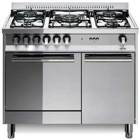 LOFRA - Cucina Maxima M95E / C 90x50 Cm 5 Fuochi Forno Elettrico ...