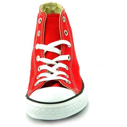 Converse All Star Ct Hi Alte Scarpe Uomo Donna Rossa Rosse Red Tela numero 37.5