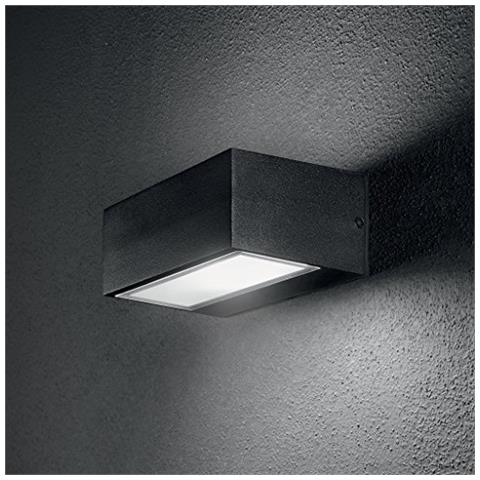 Ideal Lux - Twin Ap1 Antracite Lampada Da Parete 1 Luce - ePRICE
