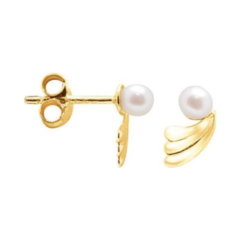 d3250df0c2a211 Blue Pearls - Orecchini Di Perle Coltivate Bianca E Oro Giallo 750/1000 -  Bps K302 W - ePRICE