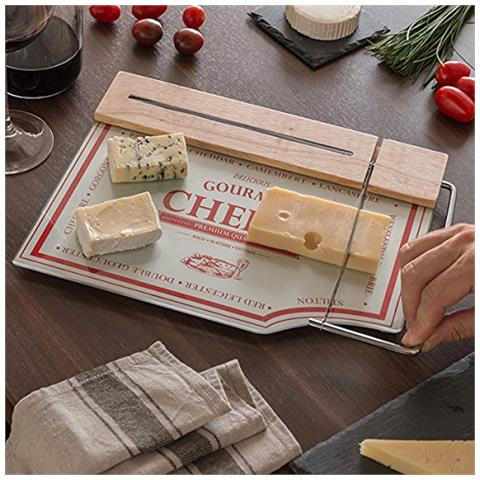bravissima kitchen - Tagliere Da Cucina Con Lama Per Formaggi - ePRICE