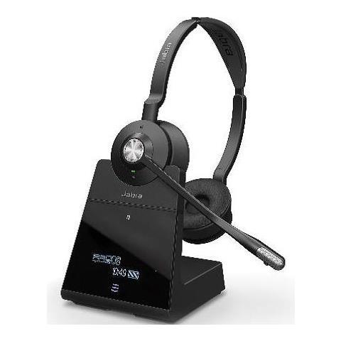 Tutte le immagini. JABRA Engage 75 Cuffie con Microfono Wireless Stereo  Colore Nero 0fb222b7b126
