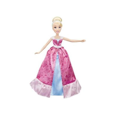 HASBRO - Barbie Disney Girls Principessa Cinderella Trasformazione