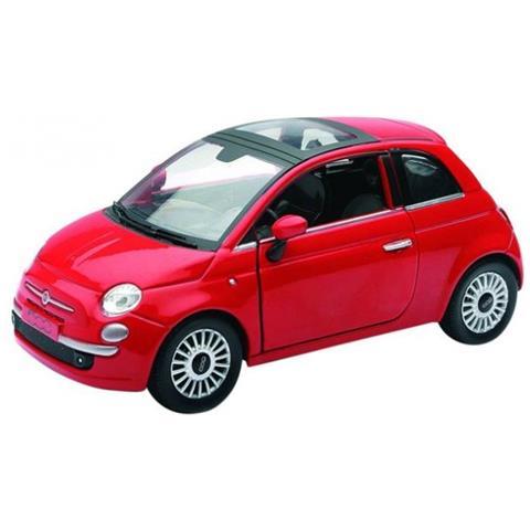 Motorama Newray Fiat 500 Rossa 1 24 Nuovo Scatola Originale