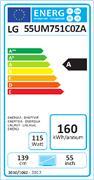 LG - 55UM751C 65IN DIRECT LED IPS 3840X2160 16:9 HDR 10 PRO HLG IN