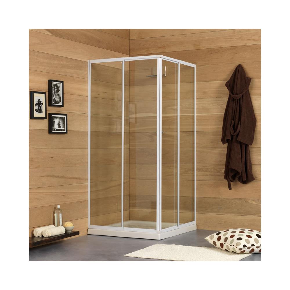 kiamami valentina box doccia modello erice estensibile 80 90 cm eprice. Black Bedroom Furniture Sets. Home Design Ideas